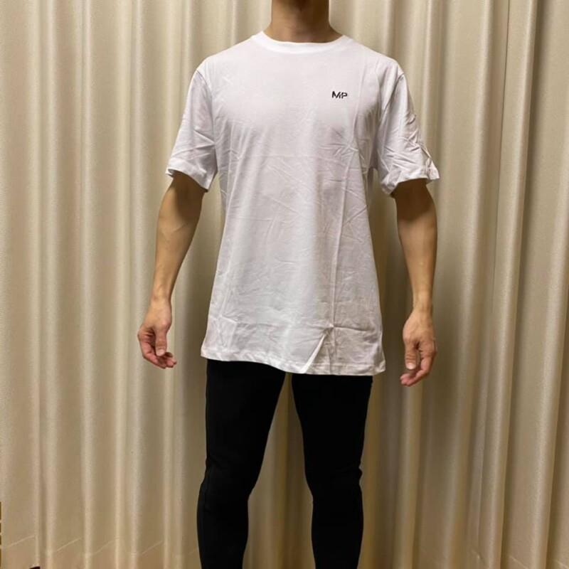 マイプロテインTシャツ白